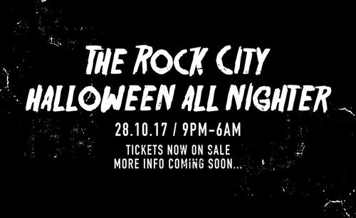 The Rock City Halloween All Nighter Cometh!