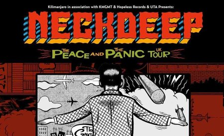 News about the Neck Deep rescheduled show!
