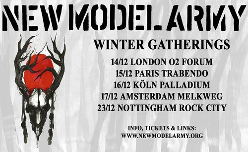 New Model Army live at Rock City!