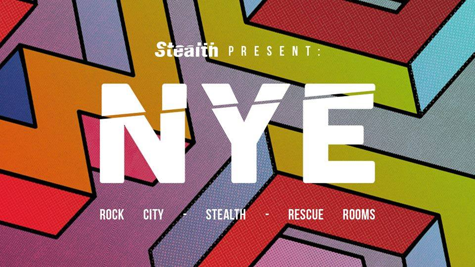 New Years Eve at Rock City, Rescue Rooms & Stealth!