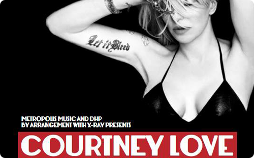 Courtney Love live at Rock City, Nottingham