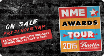 NME Awards Tour 2015