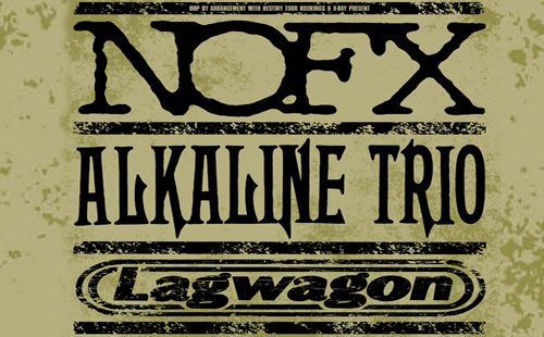 NOFX + Alkaline Trio + Lagwagon