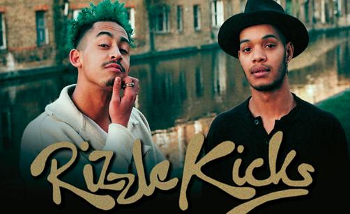 RIZZLE KICKS AT ROCK CITY