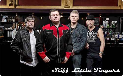 Stiff Little Fingers Live at Rock City, Nottingham